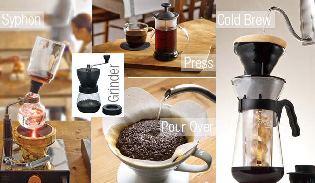 Coffee Beans Online >> Hand Brewing Equipment - Espresso Concepts